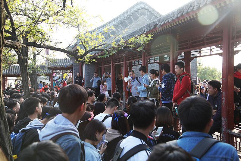 星干线艺考香山誓师大会学生代表致辞